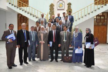 اختيار الدكتور عادل الوزني في فريق مكافحة الفساد في العراق2
