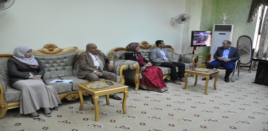 Visit of the Indian delegation to the Faculty of Tourism Sciences / Karbala University