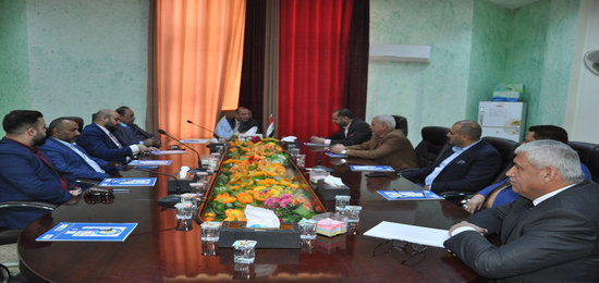 First Constituent Meeting of the Association of Hotels and Restaurants in the Holy Province of Karbala