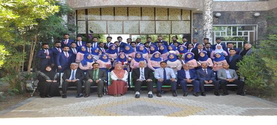 حفل تخرج  المرحلة الرابعة قسم ادارة المؤسسات الفندقية - كلية العلوم السياحية