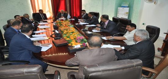 اجتماع اللجنة القطاعية الخاصة بكليات العلوم السياحية في العراق