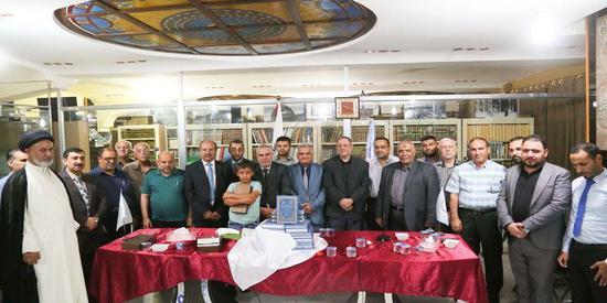 مشاركة تدريسيو كلية العلوم السياحية في أمسية مركز كربلاء للدراسات والبحوث الرمضانية